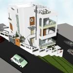Νέα τριώροφη οικοδομή
